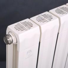 铜铝80*70波浪散热器