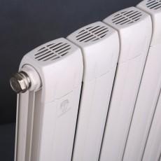 铜铝80*70双槽散热器